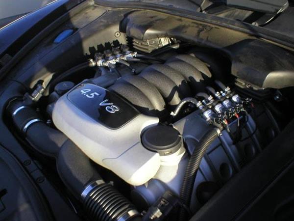 Installazione kit Prins VSI: Porsche Cayenne