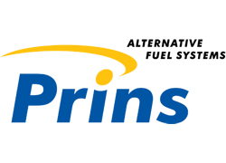 Logo PRINS alternative fuel system per auto