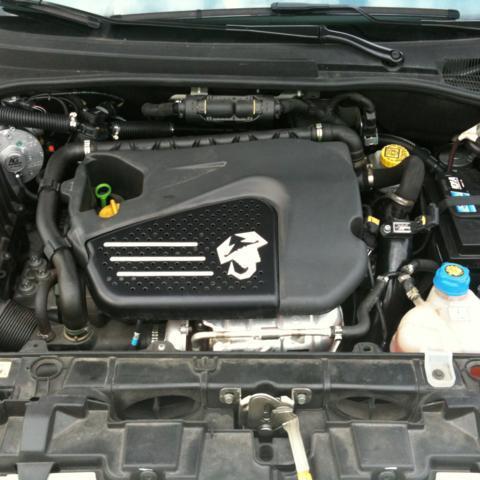 Impianto GPL AG su Fiat Punto Abarth 2