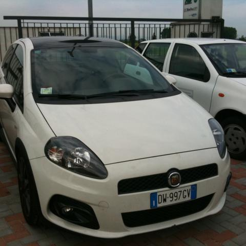 Impianto GPL AG su Fiat Punto Abarth 8