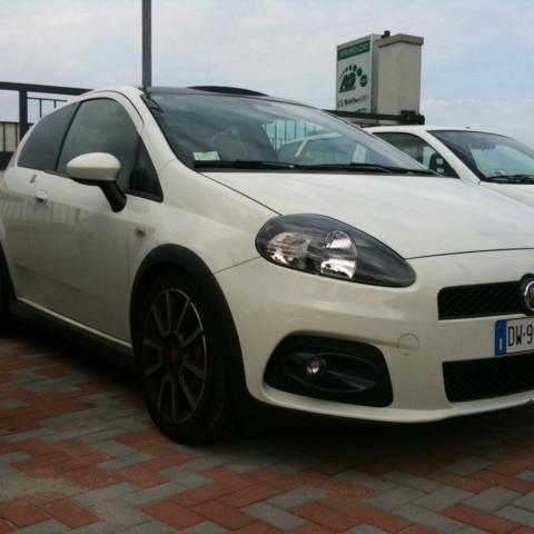 Impianto GPL AG su Fiat Punto Abarth 9