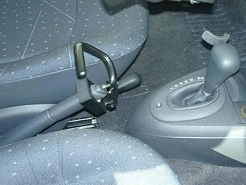 Adattamento freno a mano auto