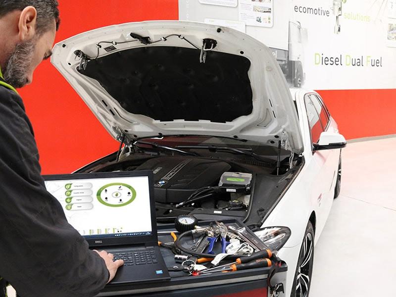 Sistema DUAL FUEL DIESEL Ecomotive Solutions