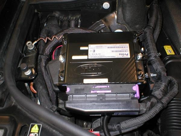 Installazione impianto Prins VSI Mercedes AMG