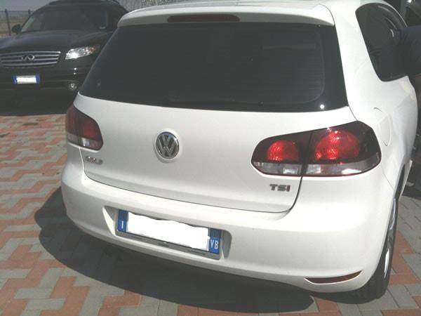 Impianto GPL Vialle su Golf motore Volkswagen