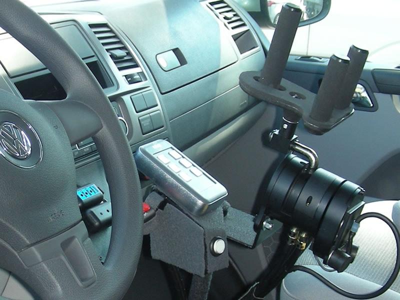Joystick paravan Space Drive per auto