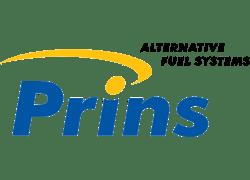 Logo PRINS alternative fuel system per auto