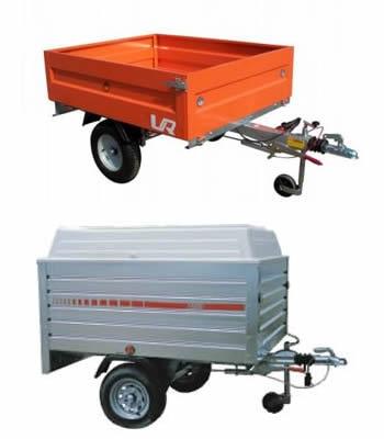 Rimorchi carrello per auto trasporto oggetti