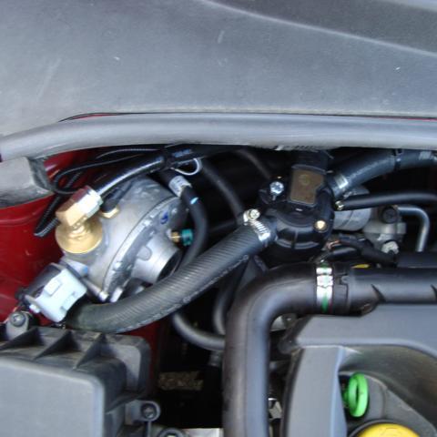 Impianto GPL su Alfa Romeo Mito 4